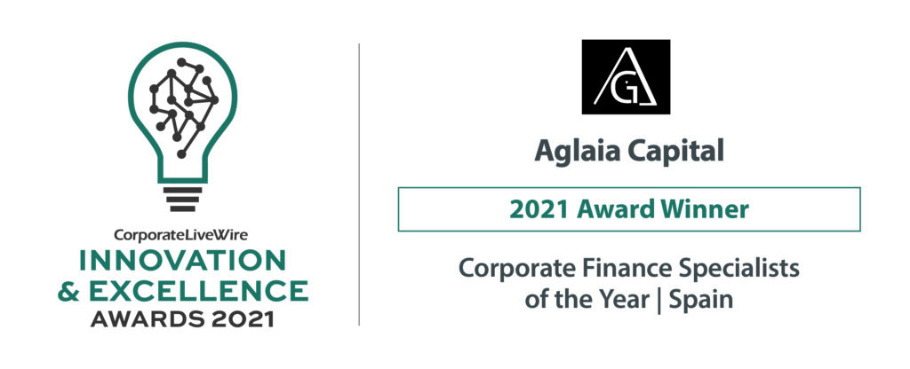 Aglaia Capital Corporate Finance specialist of the year